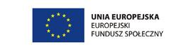 logo UE Europejski Fundusz Społeczny